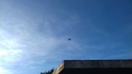`oefenen met de drone