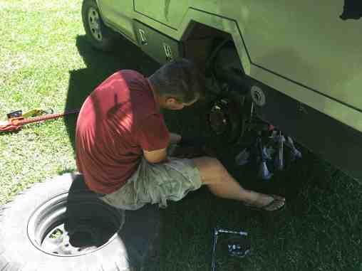 Hi Jack is uitgeprobeerd, werkt top! Vincent controleert de remmen en ook die zijn goed.