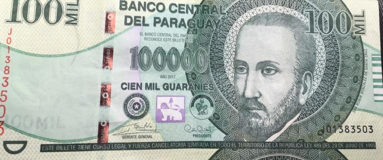 paraguay geld