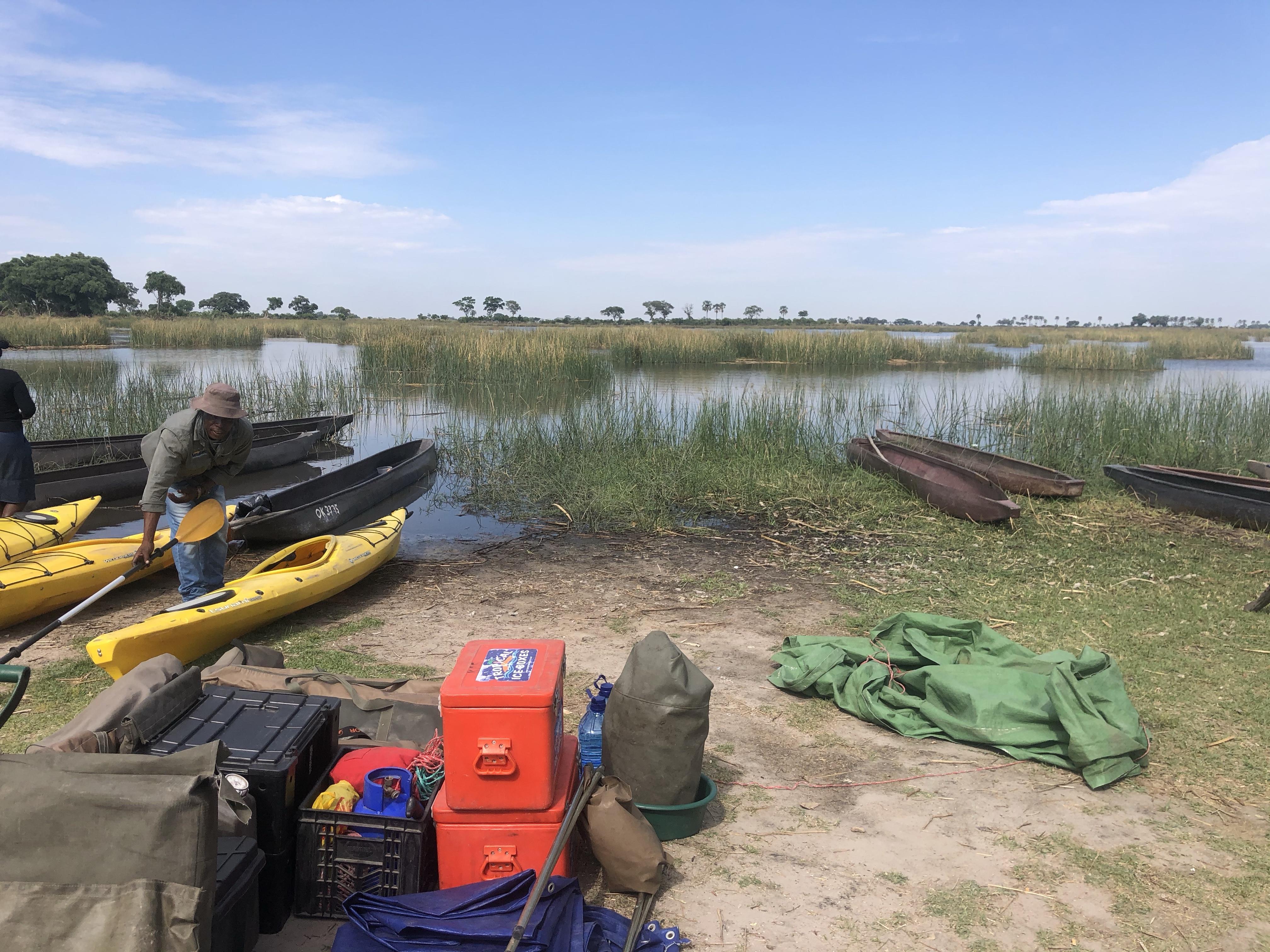 Okavanka delta